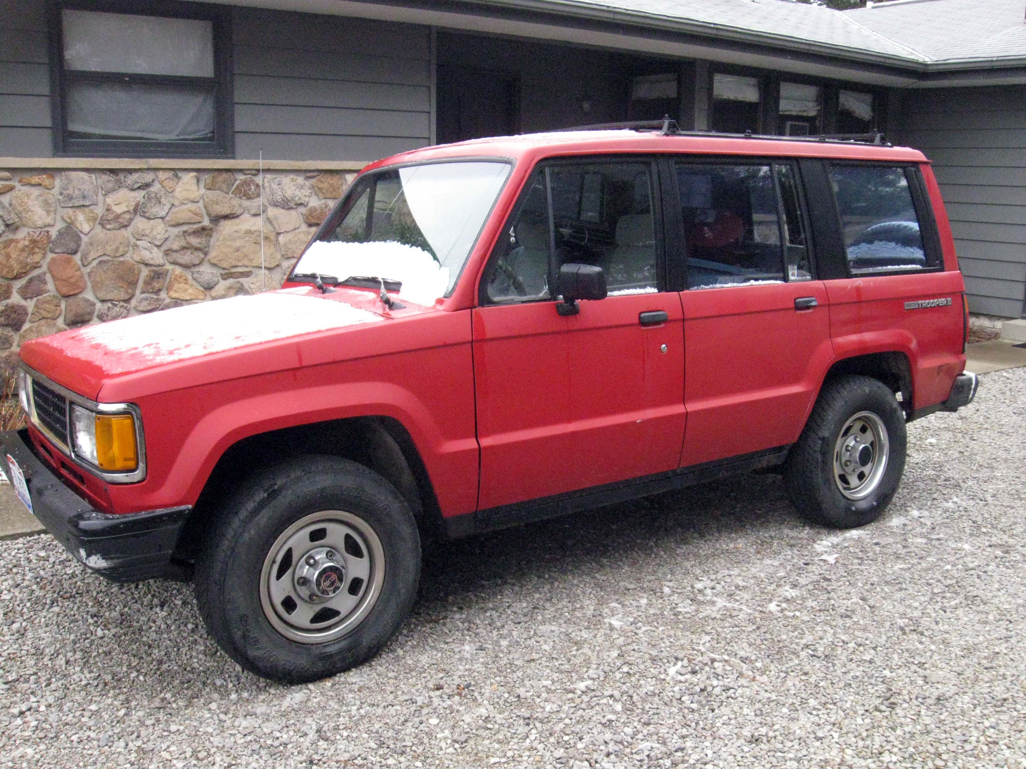 1988 Isuzu Trooper II - Red -Picture Page